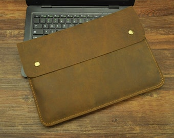 Leather Macbook Pro 13 sleeve, Macbook sleeve 13, Macbook 13 case, Macbook Pro sleeve, Macbook case, Laptop sleeve, laptop case