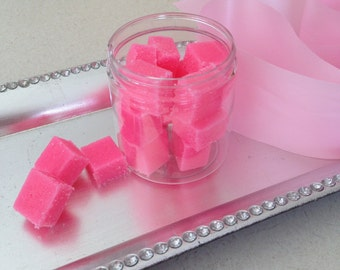 Pink Sugar Sugar Cube Scrubs/Shower Scrubs/Organic