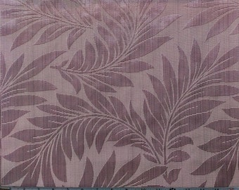 Floral Pattern Fabric in Lilac Purple Color