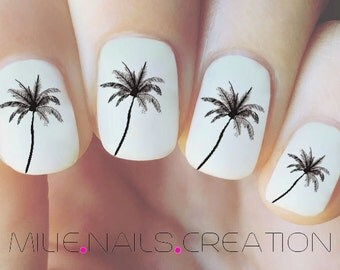 Palm Tree Nail Decal