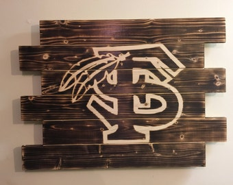 Florida State wood sign