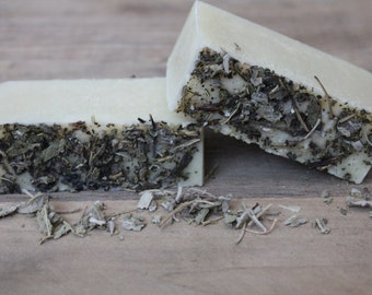 Organic Lemon | Sage Cold-Process Soap