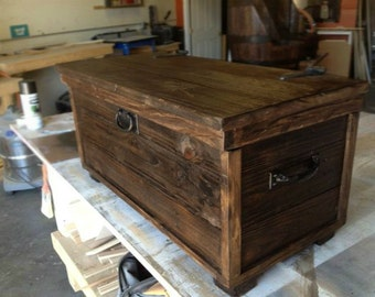 Steamer trunk etsy - Baul decoracion ...