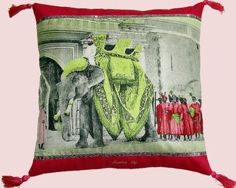 ELEPHANT pillow cover 40 x 40 cm