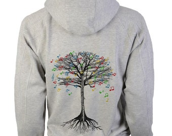 Flute Hoody Musical Tree woodwind instrument in sizes up to XXL