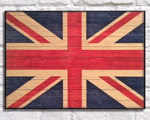 Patriotic Wall Decor Uk Flag Wood Art Wood Wall Art By