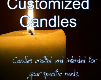 Customized Care Candles