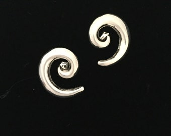 Native American Navajo Contemporary Sterling Silver Earrings