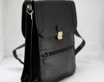 Vintage Shoulder bag, handbag, Two Faces,Men's bag