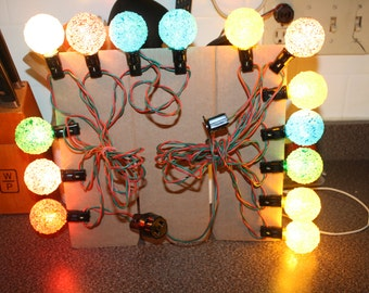 Items Similar To 1960 S Ge Lighted Ice Christmas Light Set