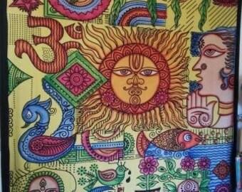 Tapestry HIPPIE, trance, Bohemian