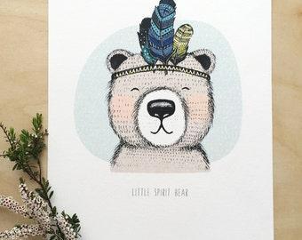 A4 Size Nursery Print - Spirit Series (Unframed)