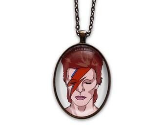 David Bowie Necklace - Stardust
