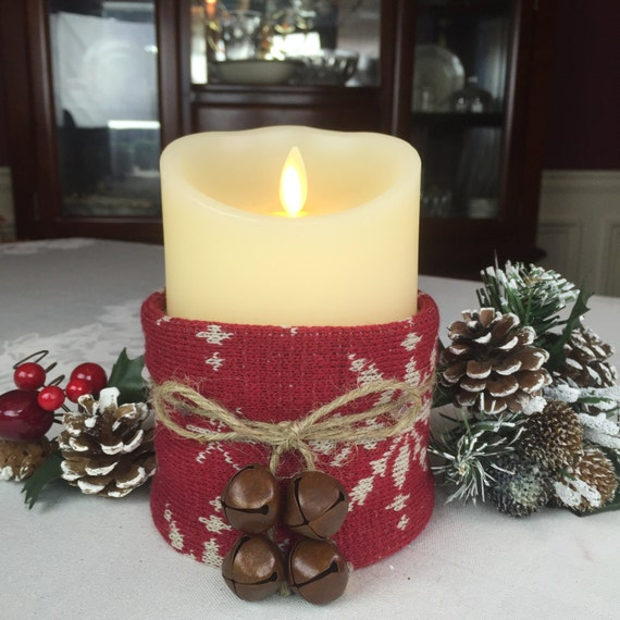 Ideas for christmas decorations led candle rustic christmas - Appealing christmas led candles for christmas decorations ...