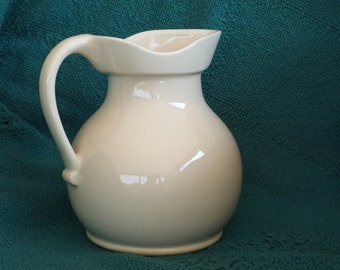 Vintage Ceramic Pitcher; Vintage Home Decor