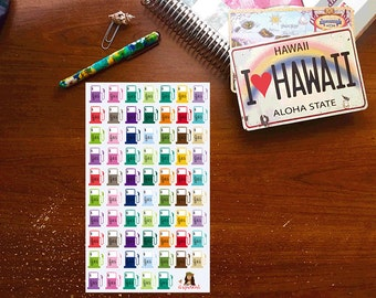 Gas Planner stickers