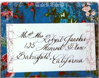 Calligraphy, Most Popular Calligrapher, Envelope Addressing