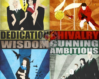 House Attribute Posters