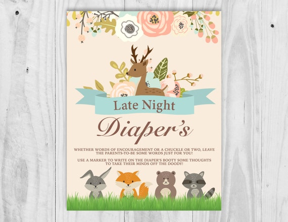 Unforgettable image pertaining to late night diapers printable