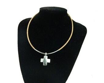 MB Cork Cross necklace Portuguese cork,Cross jewelr Fashion, 2016 new, religion , original, handmade