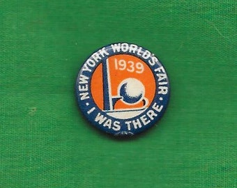 1939 Worlds Fair Button