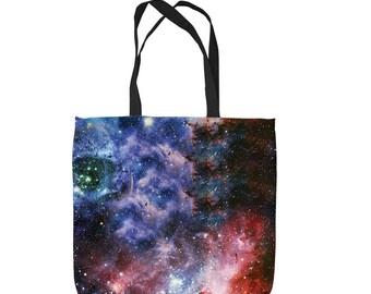 Galaxy 2 space Design Tote Bag Shopping Bag Beach Bag School Bag