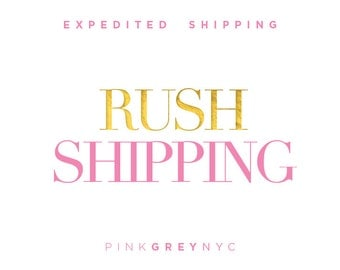 Expedited Shipping: 2 - 3 Business Days