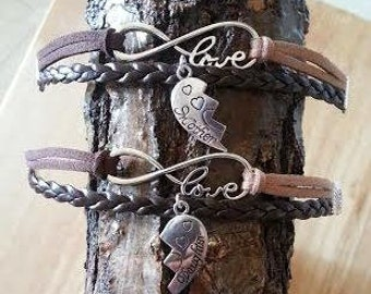Mother/Daughter matching Charm Bracelets