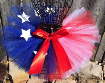 Red, white, and Blue tutus!!!