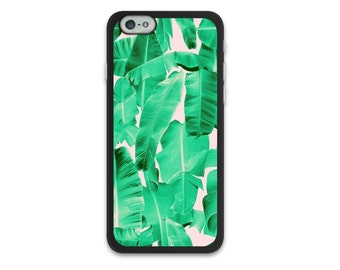 Tropical Banana Leaves iPhone 6 6S Case, iPhone 6/6S Plus Case