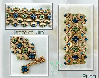 """Schéma bracelet """"Jilo"""""""
