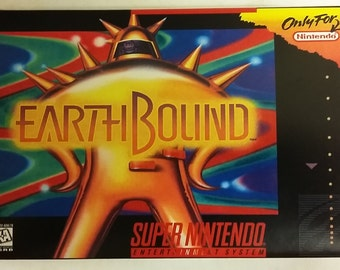 EARTHBOUND For US SNES Complete