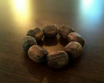 handmade ebony wood beads
