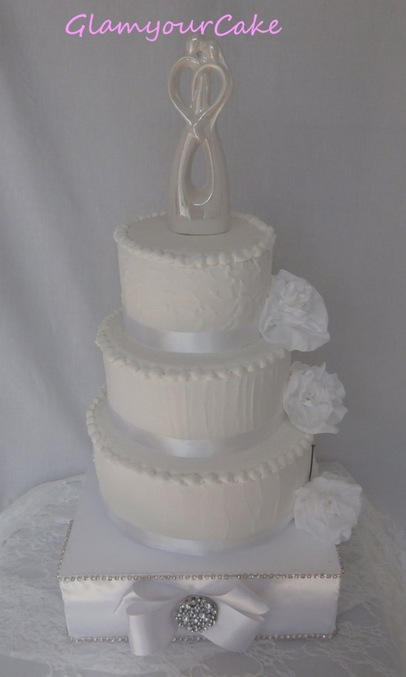 DIY Bling Wedding Cake Decorating Kit/Rhinestone by ...
