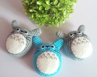 Totoro tamagotchi cover/ Totoro cover / Tamagotchi crochet cover / Tamagotchi case