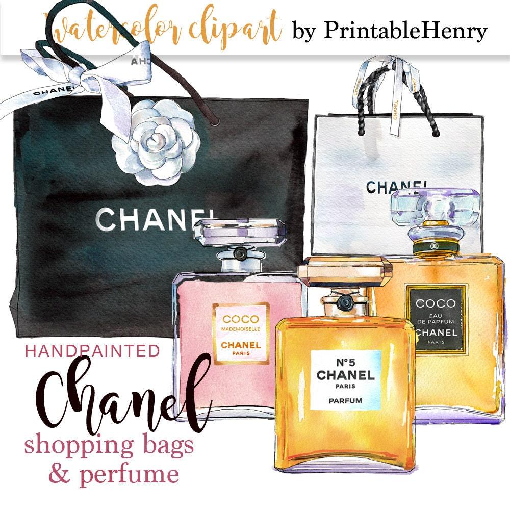 coco chanel clipart chanel perfume clipart fashion graphics