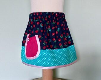 Girls Toddler Elasticated skirt 1 Year Old Ladybird