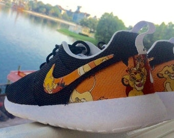 Lion King Custom Nike Roshes