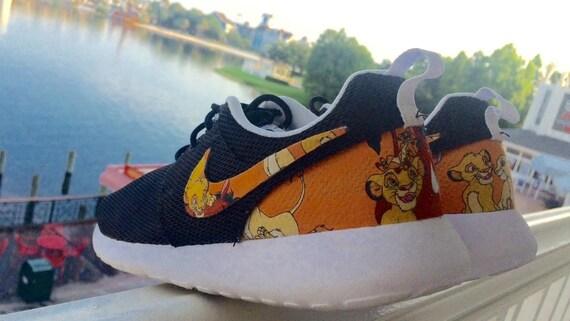 Nike Roshe Roi Lion Personnalisé