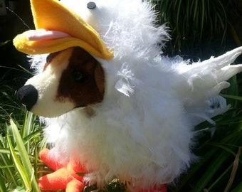 Crazy Chicken Costume for Dog XSmall-Medium by Cozy Pawz