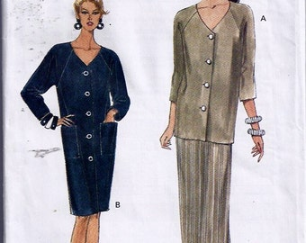 Misses' Dress, Top & Skirt / Robe, haut et jupe - Very Easy Very Vogue, pattern no 8941