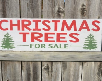 Christmas Trees For Sale Sign Fixer Upper Christmas Sign