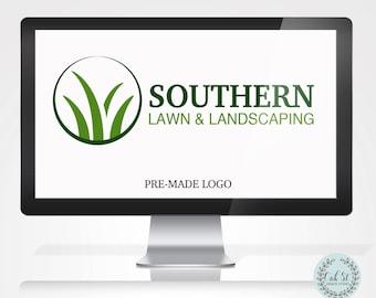 Pre-made Logo, Landscape Company Logo, Pre-made Landscape Logo, Business Card Website Marketing Logo
