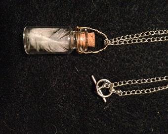 Angel Feather Fairy Bottle