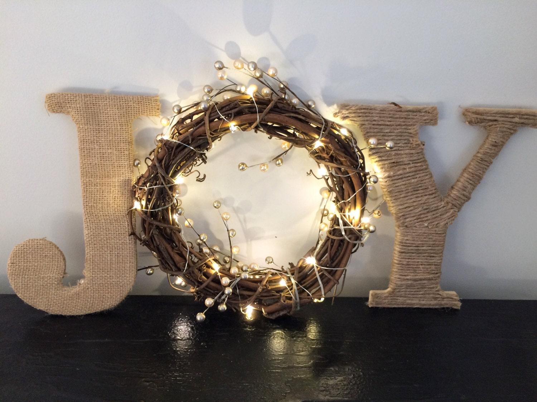 Joy Sign Christmas Sign Christmas Mantel Decor Christmas