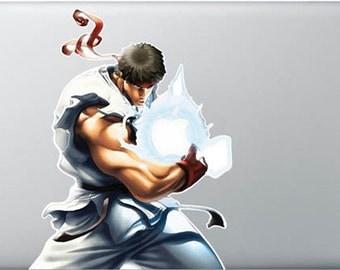Ryu Macbook Sticker