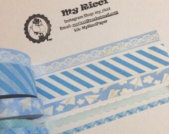 Pastel blue sample set (900cm)