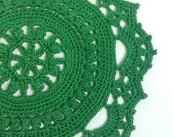 Small Crochet Doilies - set of 2 (#01-06)