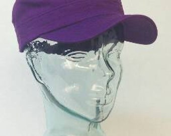Purple  Cadet  hat