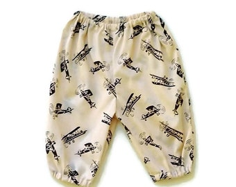 "Baby boys harem pants, Clothing for boys, sizes 3 months & 6 months, ""READY TO SHIP"""